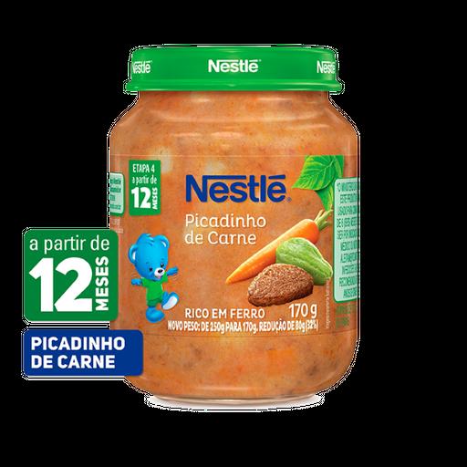 Alimento Infantil Nestlé Picadinho Carne 170 g