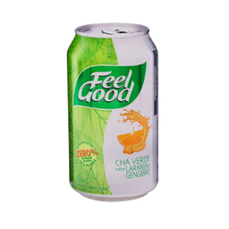 Chá Verde Feel Good Laranja e Gengibre Lata
