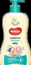 Shampoo Turma Mônica Huggies Suave 600 mL