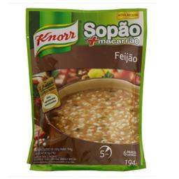 Sopão Knorr Com Mais Macarrão Feijão Pacote 194 g