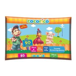 Toalha Umedecida Cocorico 50 Und