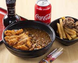 Chicken katsu curry+ combo