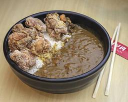 Curry com kara-ague em dobro