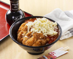 Chicken katsu com tomate e queijo