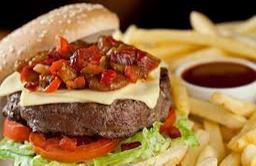 Balboa burguer - hamburguer recheado
