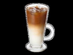 Latte Gelado com Chocolate e Laranja
