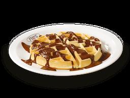 Waffle com Ciocolatta