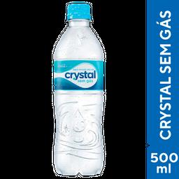 Crystal Água Mineral Sem Gás 500ml