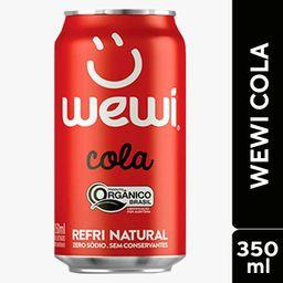 Wewi Orgânico Cola Zero 350ml