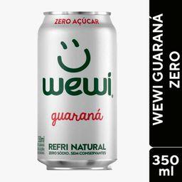 Wewi Orgânico Guaraná Zero 350ml