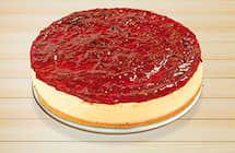 Cheese cake com frutas vermelhas