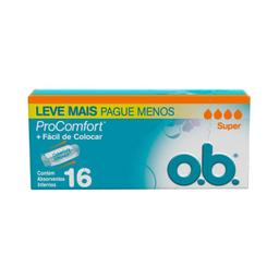 Ob Abssorvente Super Pro Comfort Com 16 Leve+Pague