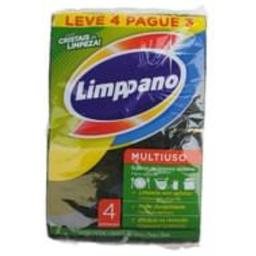 Limppano Leve 4 Und - Esponja Limpano Multiuso