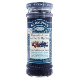 St. Dalfour Geleia Francesa de Cramberry Com Mirtilos