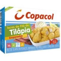 Copacol Iscas De Filé De Tilapia Empanada Congelada