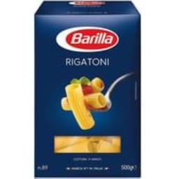 Macarrão Importado Italiano Barilla Rigatoni N89 500 G
