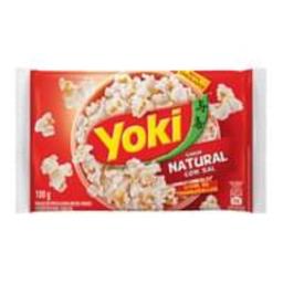 Yoki Popcorn Natural Com Sal 0% Gordura Transgênicas