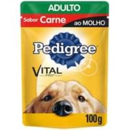 Ração Úmida Pedigree Sachê Carne ao Molho Cães Adultos 100g