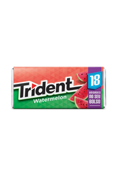 Trident Goma de Mascar Watermelon