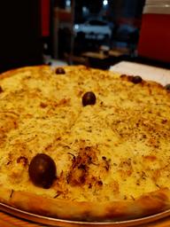 Pizza Grande Frango c/ Mussarela + Coca Cola 1,5L