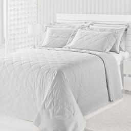 Colcha Matelasse Royal Comfort Casal Branco 3 Und