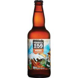 Cerveja Weiss - Fabrica 1959
