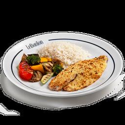 Plat 1 - Tilapia na Crosta (1 Pessoa)