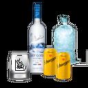 Combo Vodka Grey Goose&Schweepes