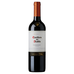Vinho Chileno Tinto Casilero Del Diablo Carmenere 750ml