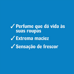 Comfort Amaciante Azul Conc Sachê