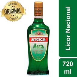 Amarula Licor Stock Creme De Menta Garrafa