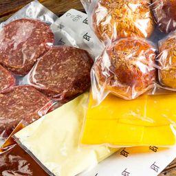 Kit Classic Bacon Burger 180g