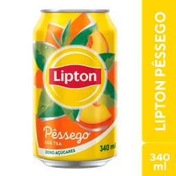 Lipton Pêssego Ice Tea 340ml