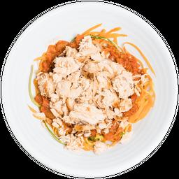 Espaguete de Legumes com Salmão - 350g