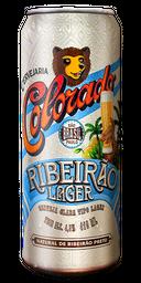 Cerveja Colorado Ribeirão Lager Latão 410 mL
