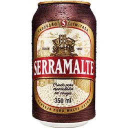Cerveja Serra Malte Lata 350 mL