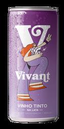 Vinho Vivant Tinto Lata 269 mL