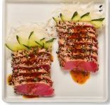 Sashimi Atum Toast - 10 Unidades