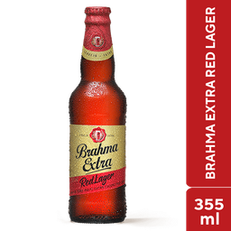 Brahma Extra Red Lager 355ml
