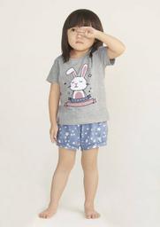 Pijama Infantil Curto Bebê Menina