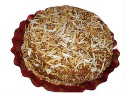 Torta de Coco com Doce de Leite - Serve 20 Fatias