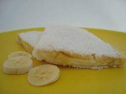 Tapioca de queijo com banana