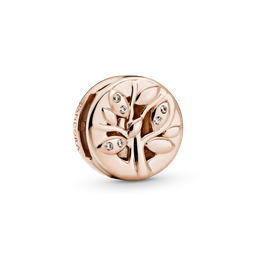 Charm Clipe Pandora Rose Reflexions Árvore Da Família