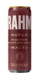 Cerveja Brahma Duplo Malte Lata 350 mL