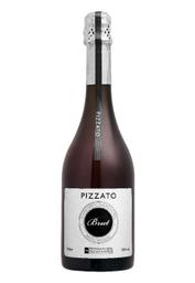 Vinho Pizzato Brut Branco Tradicional D.O.V.V. 750 mL