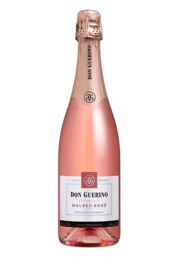 Vinho Don Guerino Espumante Brut Malbec Rosé 750 mL