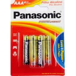 Pilha Panasonic Álcool Aaa Leve 4 Pague 3 Und