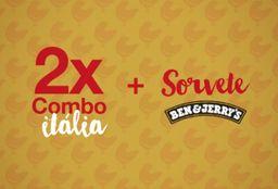 Itália e Sorvete Ben & Jerrys - 2 Pessoas