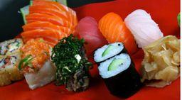Sushi e Sashimi Variado - 1 Pessoa