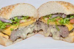 Burger Recheado - Quatro Queijos